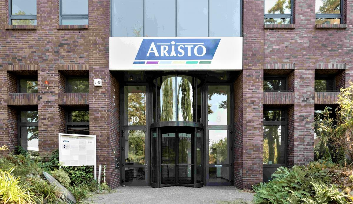 The corporate headquarters of Aristo Pharma Group in Berlin